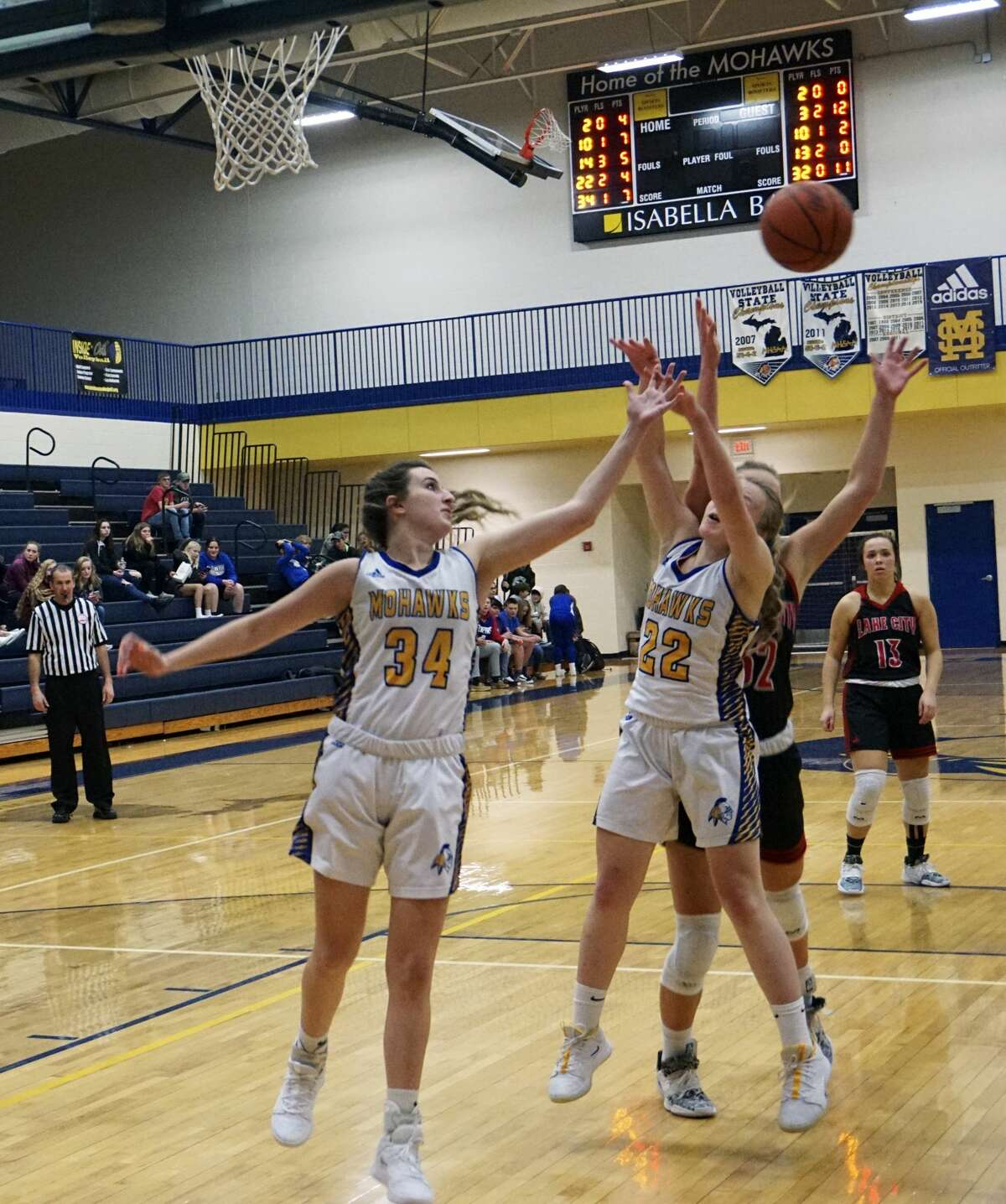 Morley Stanwood's girls basketball team defeated Lake City 54-49 at home on Monday night.