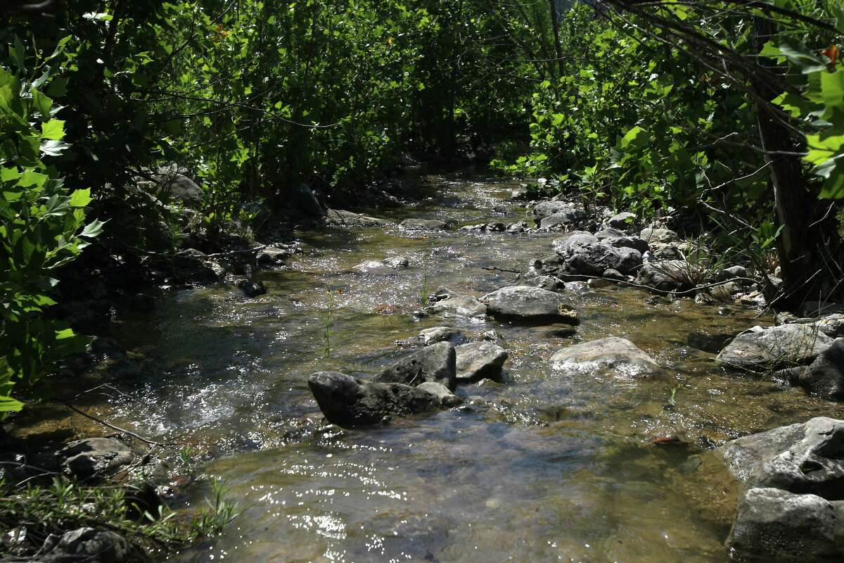 A tributary to Blanco Creek flows through part of the Marneldo Ranch near Sabinal. The ranch is part of the City of San Antonio's Edwards Aquifer Protection Program.