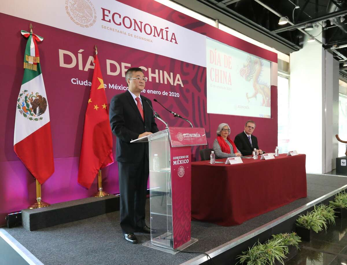 During a Monday morning event in Mexico City, China's ambassador to Mexico Zhu Qingqiao announced that the Bank of China and the Industrial and Commercial Bank of China, or IDBC, would invest $600 million into the Dos Bocas Refinery.