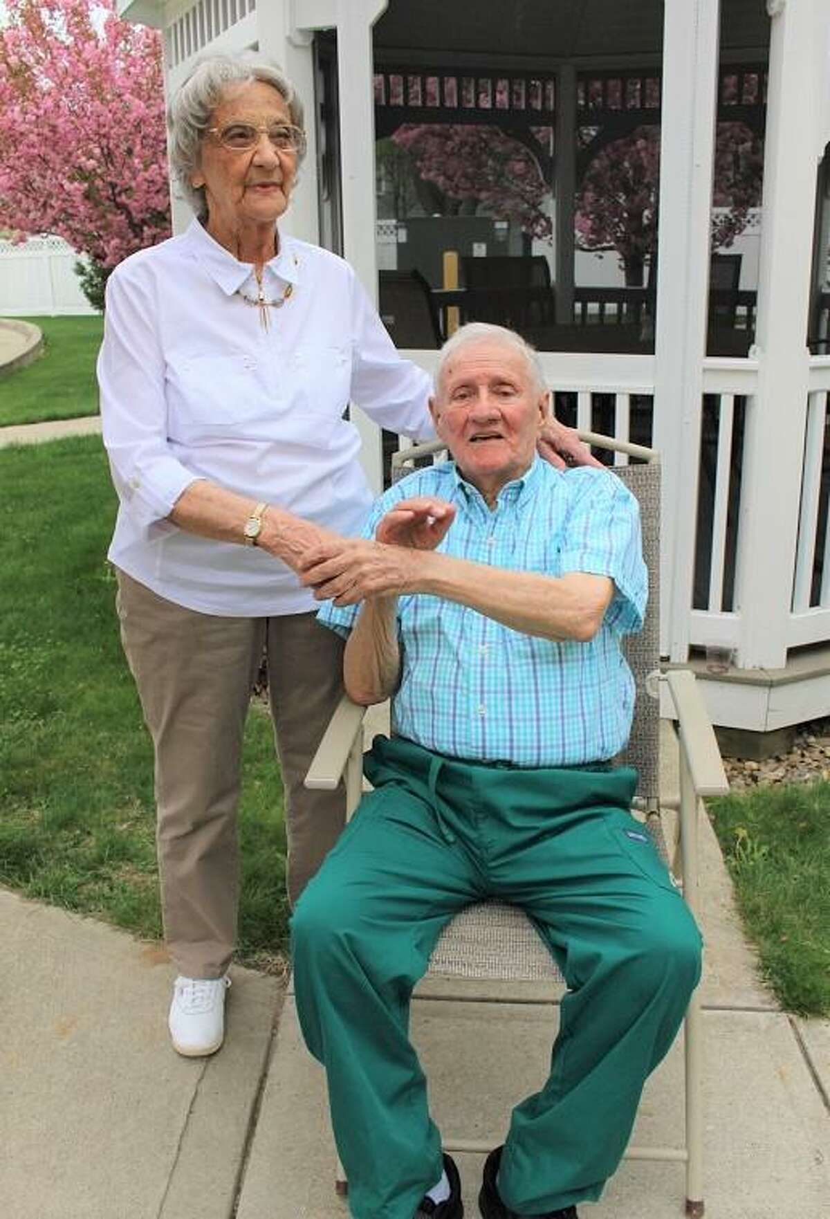 William andDorothyMcCarthyare celebrating their 70th Wedding anniversary.