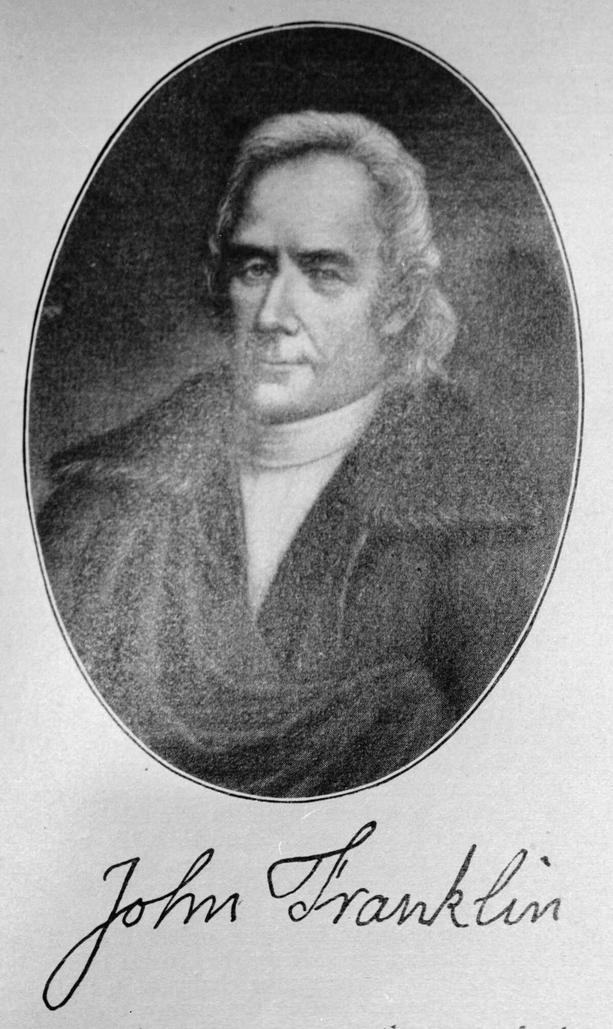 John Franklin, who led Connecticut troops during its war with Pennsylvania, called the Pennamite-Yankee War.
