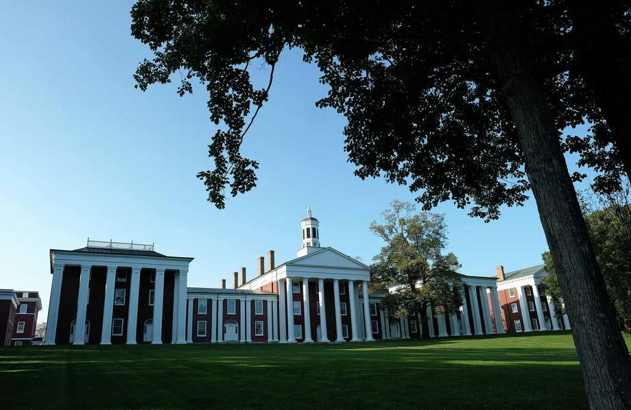 The liberal arts college Washington and Lee University in Lexington, Virginia, offers students a good return on investment, a study indicates. It is shown Sept. 19, 2019. Photo: Photo For The Washington Post By Norm Shafer / The Washington Post