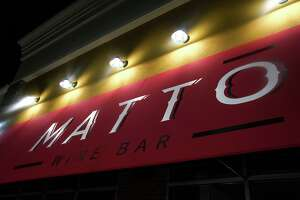 MATTO Wine Bar opened in early December at 389 Bridgeport Avenue - former home of Barra.