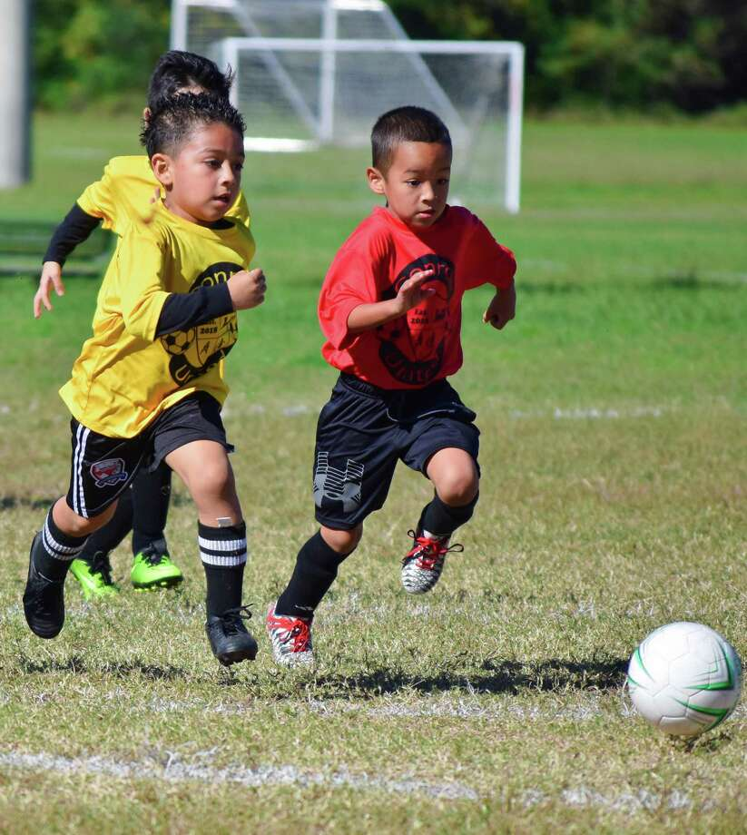 Register now for Conroe United's Spring Soccer Season for boys and girls ages 4-13. Cost is $30 for Conroe residents and $37 for non-residents. Registration deadline is January 24. The emphasis of the league will be on skill development, fun and fair play. All games will be played on Saturdays at Carl Barton, Jr. Park. Teams will practice once per week for younger players, and have the option of a second weekly practice for older players. The season will have 8 games. Jerseys will be provided, players must provide their own shorts, socks, and shin guards. All coaches must pass a background check and attend a Coaches training and Coaches Roster and Equipment meeting. All players must attend a mandatory skill evaluation to assist staff to create equitable teams on February 1. Contact the C.K. Ray Recreation Center at 936-522-3900 or online at cityofconroe.org for more information Photo: Courtesy Photo