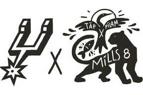 Spurs Sports and Entertainment (SS&E) regularly schedules themed nights in acknowledgment of a range of groups and cultures. The upcoming addition was initiated by Mills and SS&E to pay homage not only to the local Indigenous cultures and people, but those around the world as well. This weekend's special game marks the debut of Mills' apparel collection, a collaboration with the Tāp Pīlam Coahuiltecan Nation. The limited line of street wear features the Spurs logo alongside American Indian-inspired imagery showing the creation story of the city.