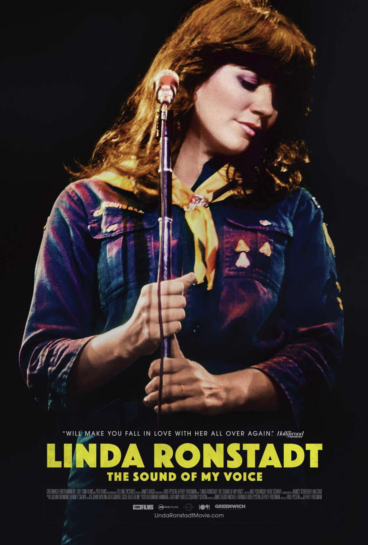 Linda Ronstadt: The Sound of My Voice will be screened on Jan. 21 at 7:30 p.m. at the Fairfield Theatre Company, 70 Sanford Street, Fairfield. Tickets are $10. For more information, visit fairfieldtheatre.org.