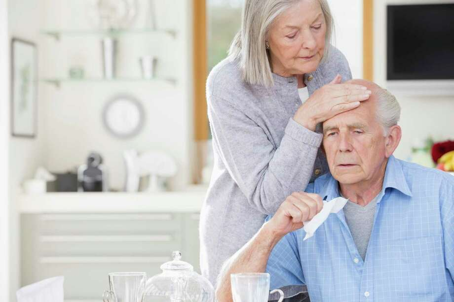 Pneumonia can strike even young, healthy adults, but the elderly (especially nursing home residents) are at particular risk. That's why the two pneumonia vaccines are recommended for everyone 65 and older. Photo: Getty Images, Contributor / Getty Images/Caiaimage / This content is subject to copyright.