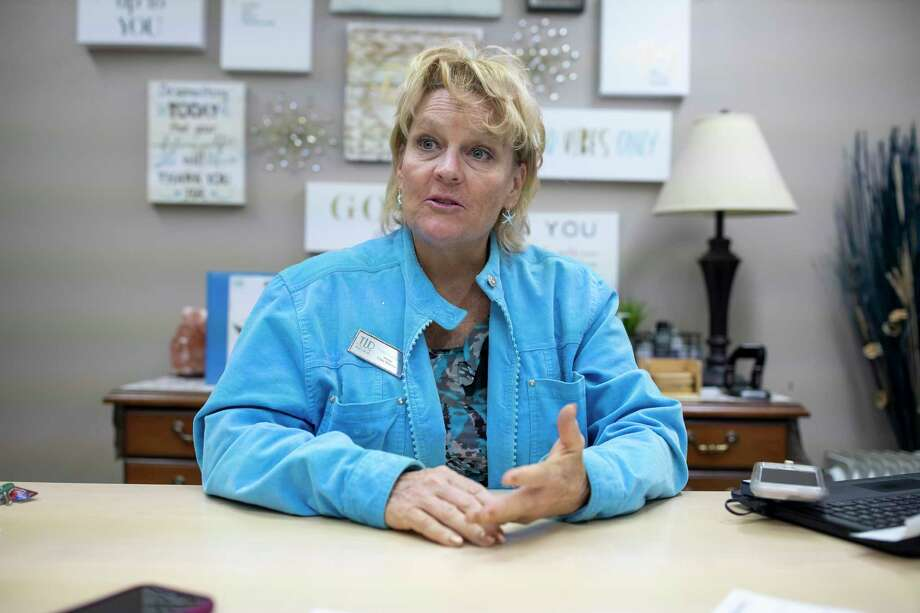 Vikki LeBeau, owner and clinic director of Texas Last Diet, discusses her journey into working in the industry of weight loss, Thursday, Jan. 9, 2020. Texas Last Diet will be celebrating their fifth year operating in the Woodlands in 2020. Photo: Gustavo Huerta, Houston Chronicle / Staff Photographer / Houston Chronicle
