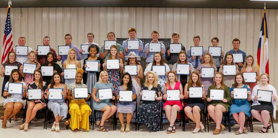 The Fort Bend County Fair is accepting applications for its scholarship program. Above are the 2019 recipients. Photo: Fort Bend County Fair / Fort Bend County Fair / 2017_BillRobertson