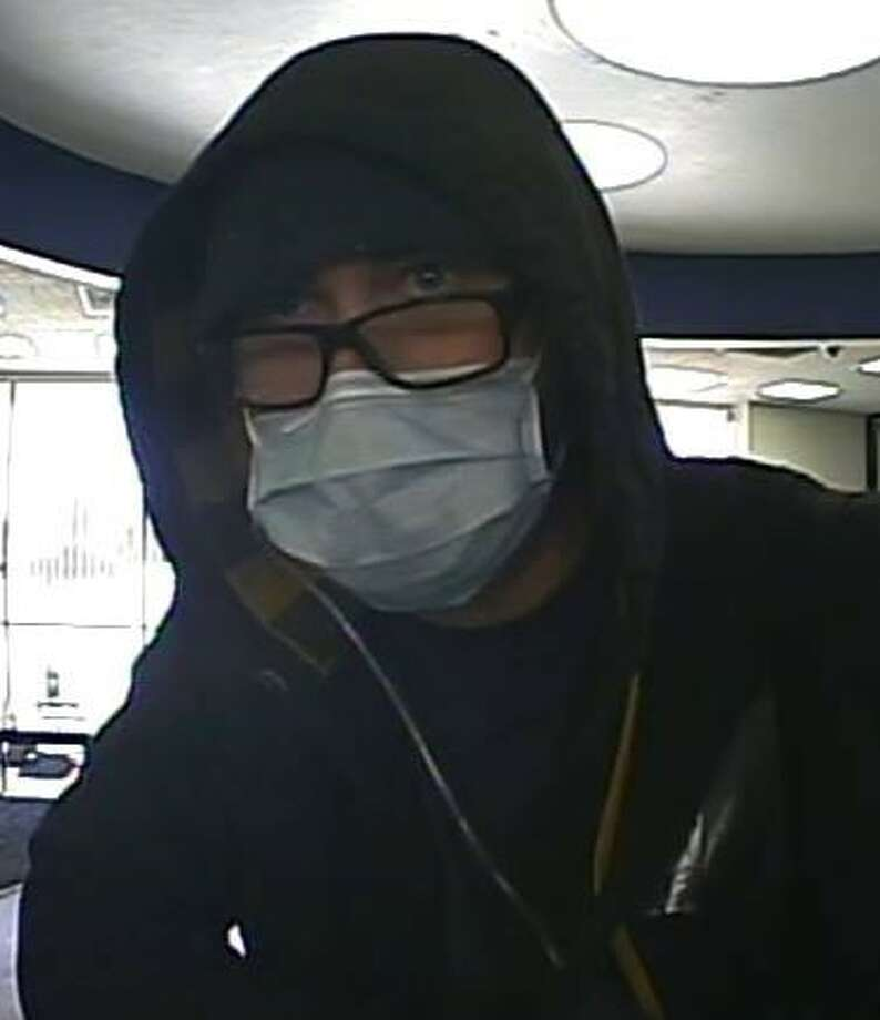 The FBI is continuing to search for a man suspecting of robbing an Odessa bank earlier this month. Photo: Odessa Police Department