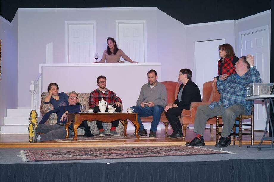 """Rumors"" runs through Jan. 19 at the Community Theatre at Woodbury. Photo: Contributed Photo"