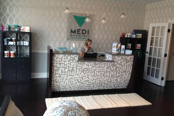 Inside Medi-Weightloss' main lobby.