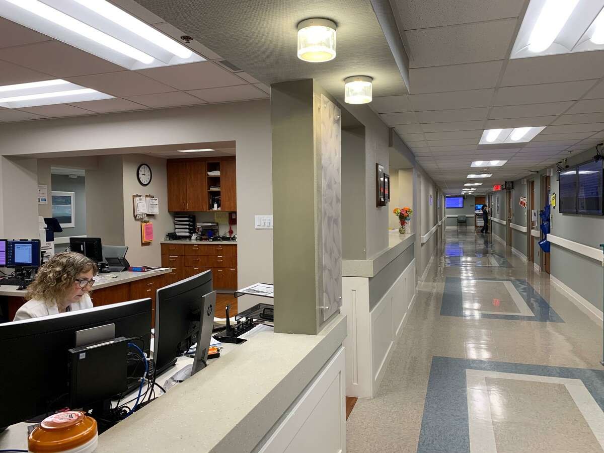 The sixth floor of Methodist Hospital Metropolitan was renovated recently. The hospital's renovation plan recently reached the $65 million mark.