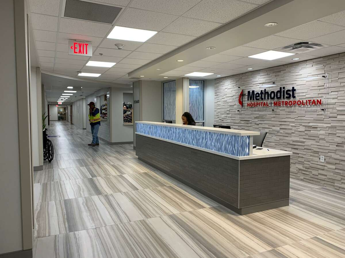 The first floor of Methodist Hospital Metropolitan has been renovated, including the main lobby and patient waiting area near the cafe. This upgrade is part of a multimillion-dollar multiyear renovation.