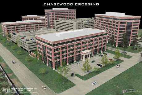 Chasewood Crossing Three, at 19350 Highway 249, is one of six planned buildings in the office campus. Pennnington Commercail Real Estate is marketing the project for the owner, Greenwood Properties.