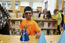 Darien resident Eshaan Vijay, 5.