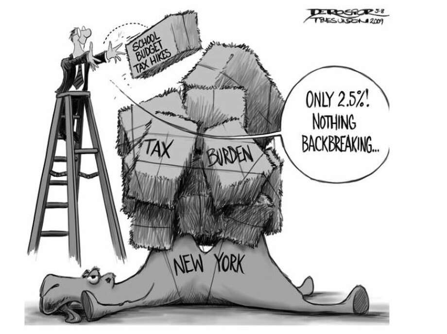 STAR helps offset NY's highest-in-the-nation school taxes but it's complicated and confusing. Photo: Times Union