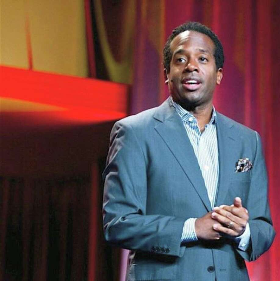 Wali Collins performs in the Ivy League of Comedy show at Fairfield Theatre Company Jan. 25. Photo: Contributed Photo