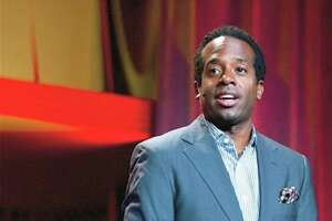 Wali Collins performs in the Ivy League of Comedy show at Fairfield Theatre Company Jan. 25.