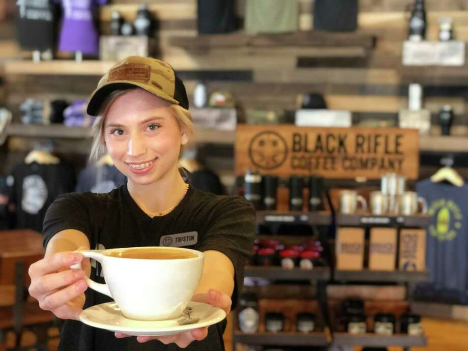 Black Rifle Coffee Company has opened its first brick-and-mortar location in Boerne in Main Plaza at the corner of E. San Antonio Avenue and Main Street. Photo: Black Rifle Coffee Company