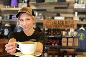 Black Rifle Coffee Company has opened its first brick-and-mortar location in Boerne in Main Plaza at the corner of E. San Antonio Avenue and Main Street.