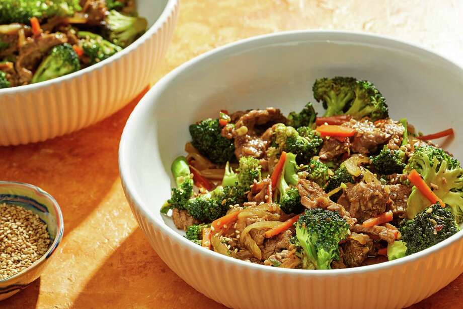 Beef and Broccoli Stir-Fry. Photo: Photo By Tom McCorkle For The Washington Post. / For The Washington Post