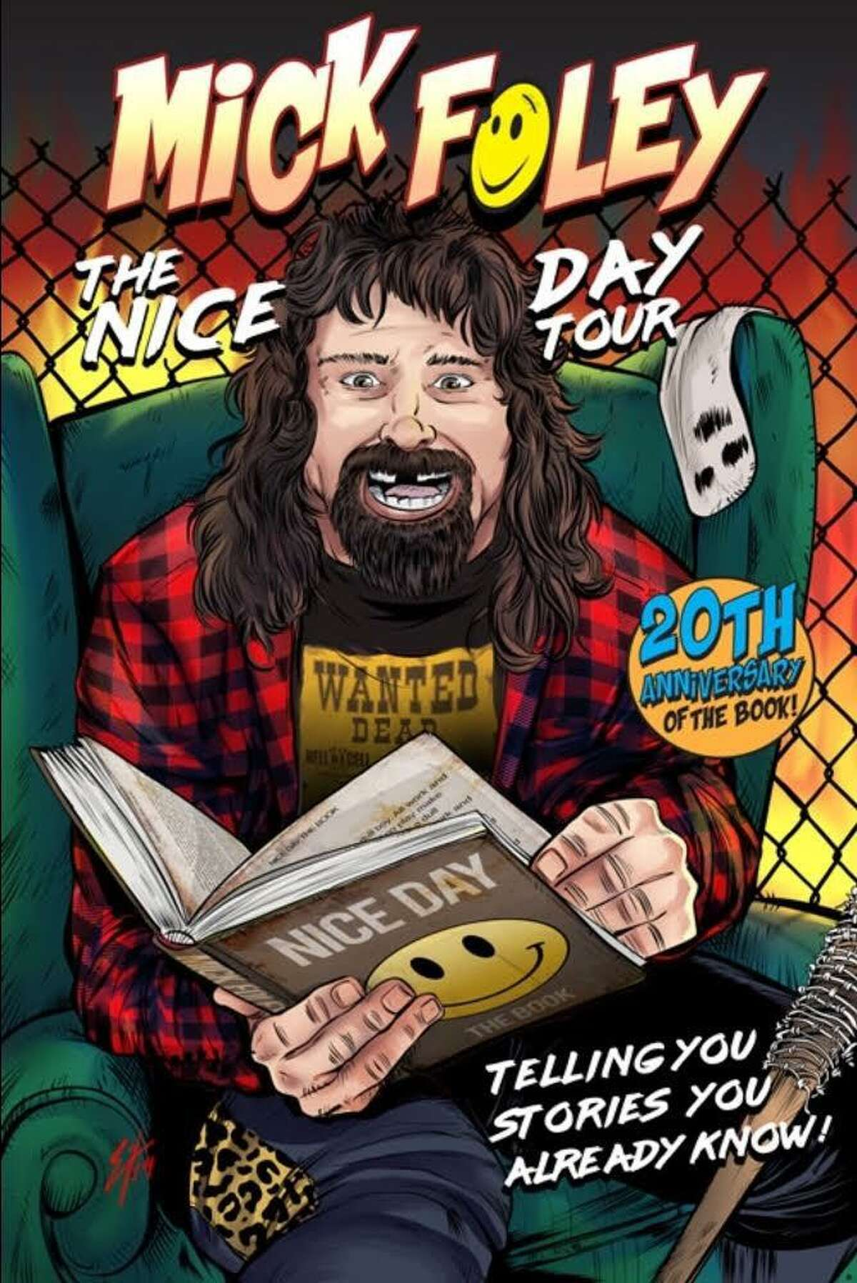 Mick Foley is coming to The State House in New Haven on Feb. 7 ,part of his