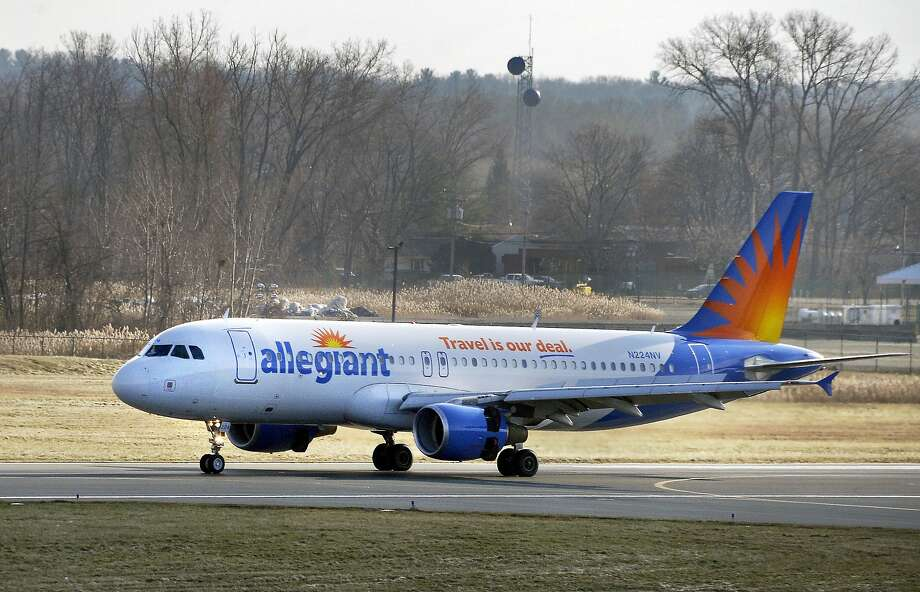 Allegiant Air flies Airbus A319s and A320s from Oakland International to small, second tier airports. Photo: John Carl D'Annibale, Albany Times Union
