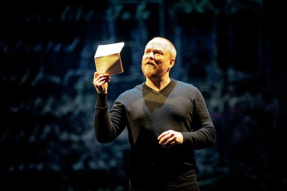 """Guy Roberts plays 17 characters in a 90-minute, one-man adaption of the play """"Hamlet."""" The production will run at Main Street Theater fromThursday, Jan. 9, 2020, through Jan. 19. Photo: Courtesy Of Prague Shakespeare Company"""