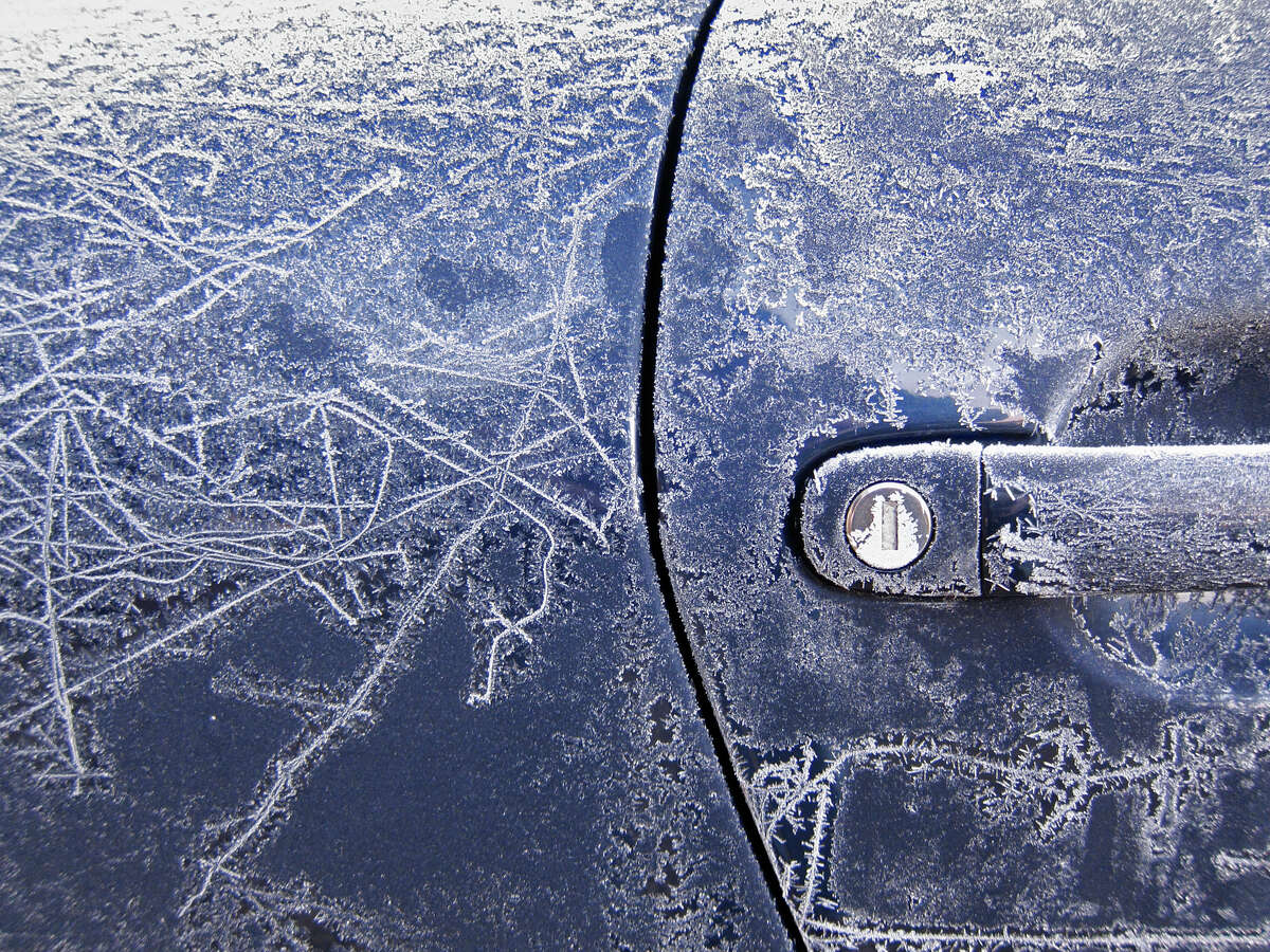 Prevent car locks from freezing by spraying them with WD-40 or a de-icer. Just remember not to keep them inside of the car!