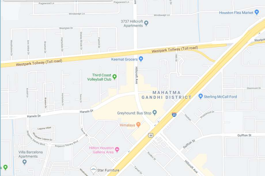 A fatal accident involving two vehicles in southwest Houston will have Westpark Dr. closed in both directions for a couple of hours, according to police. Photo: Google Maps