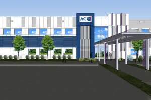 Pictured is a rendering of A&C Plastics' expanded headquarters.