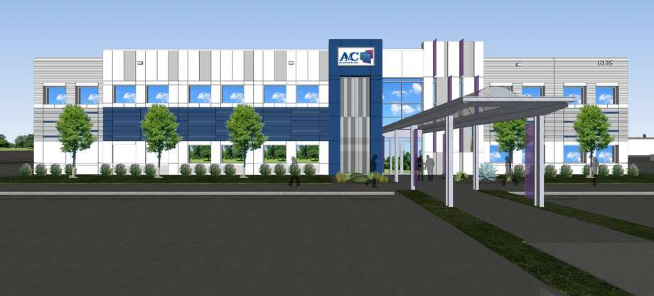 Pictured is a rendering of A&C Plastics' expanded headquarters. Photo: A&C Plastics