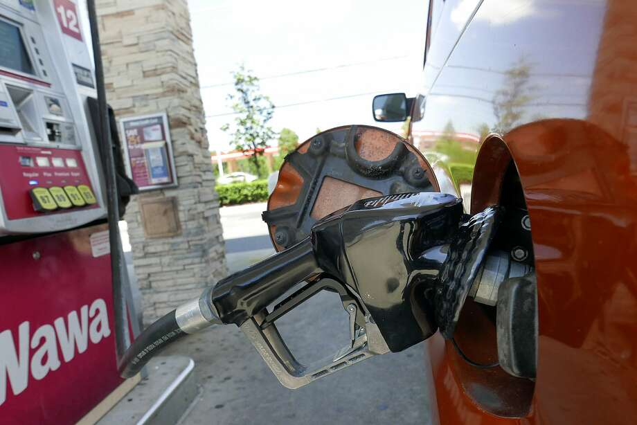 Gasoline prices are rising nationally as the price of crude oil recovers from last week dip below $50 a barrel. Photo: John Raoux, Associated Press