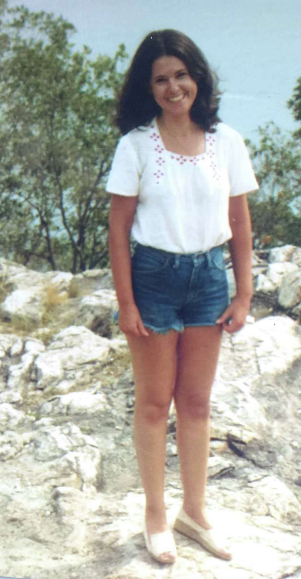 Former New Milford resident Karen Smyrski-Smith, who has Autosomal Dominant Polycystic Kidney Disease (ADPKD), an inherited progressive disorder in which cysts develop in the kidneys, is hopeful a living donor with a kidney match will soon be found. She is shown above at age 29 when she was diagnosed with the disease in 1980.