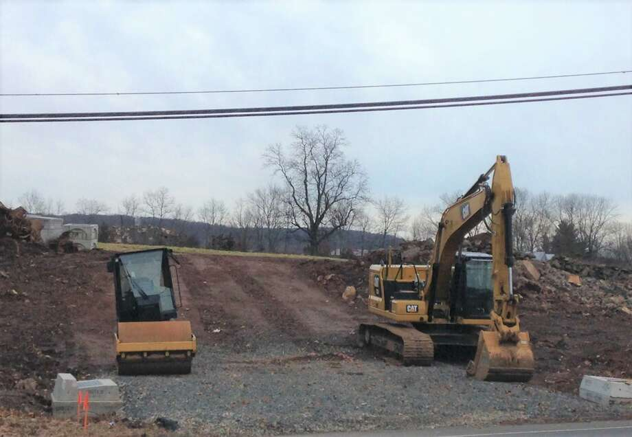 Site work on Portland's new Dairy Queen has begun. Dairy Queen owners Mike and Rosemary Cassetta purchased the property at the intersection of Route 66 and Gospel Lane, directly across the road from their current location. The new restaurant, at 900 Portland Cobalt Road, will offer more interior space, outdoor patio seating, and drive thru window service. A summer 2020 opening is planned. Photo: Mary Dickerson