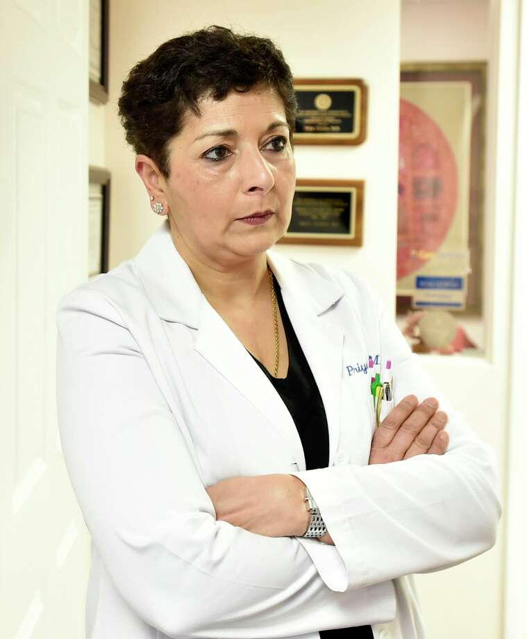 """Colchester, Connecticut - Tuesday, January 14, 2020: Dr. PreyaTandon, M.D. in her 7 Park Ave., Colchester office, located 7 doors down in a small complex from the Family Physical Therapy business owned by Anthony Todt, who may be connected to the 4 people found dead in Celebration, Florida, according to officials. Dr. Tandon said that her impression of Todt was that, """"he was a good man"""". Officials in the southeastern town of Colchester are asking residents to come together after a missing local family was linked to the discovery of the bodies in Celebration, Florida. Anthony Todt, 44, and his wife Megan, 42, have not been in contact with family since Jan. 6, according to several news reports. Photo: Peter Hvizdak / Hearst Connecticut Media / New Haven Register"""