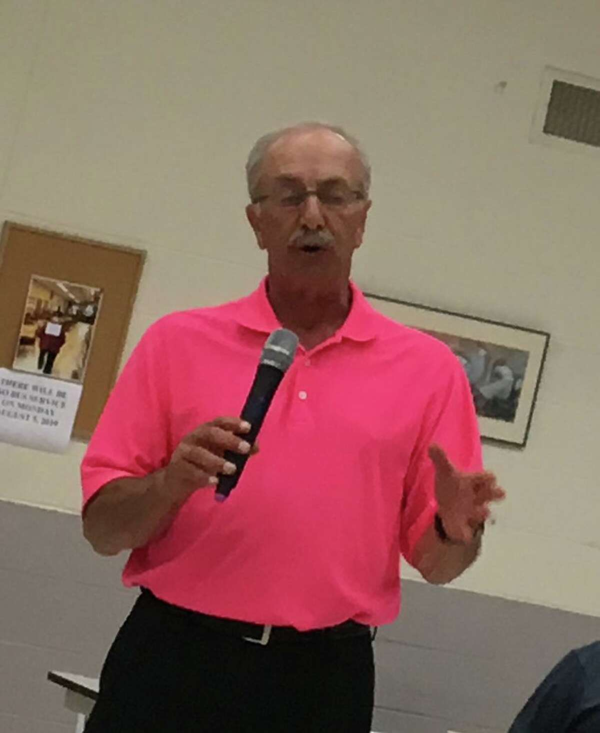 Former East Haven Director of Administration and Management Sal Brancati, who was let go by the town on Tuesday, Jan. 14, 2020, at a recent meeting.