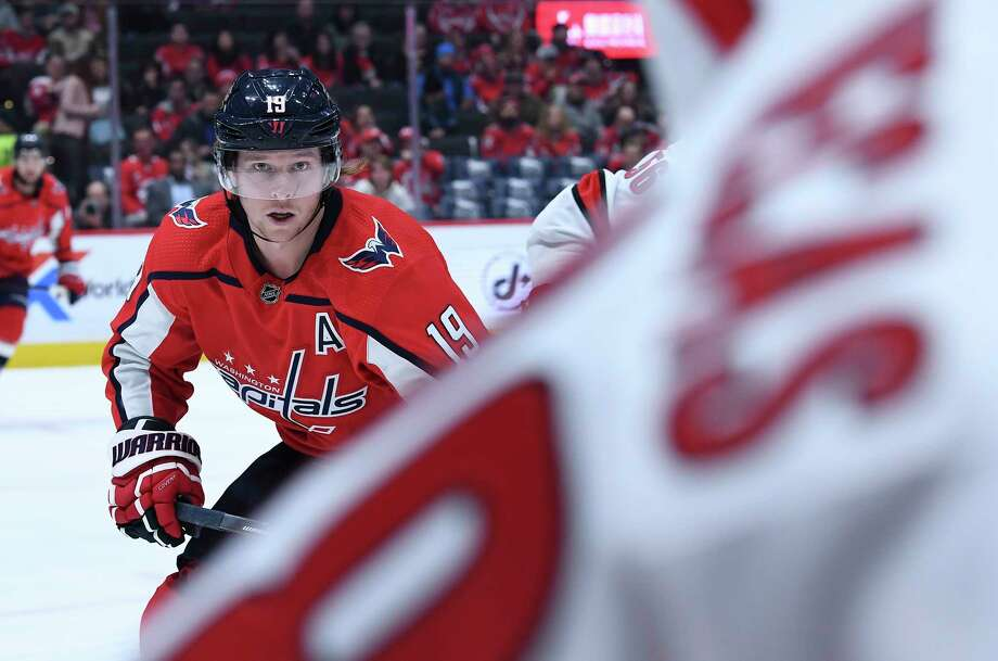 Washington Capitals center Nicklas Backstrom at Capital One Arena in Washington on Monday, Jan. 13, 2020. Photo: Washington Post Photo By Toni L. Sandys / The Washington Post