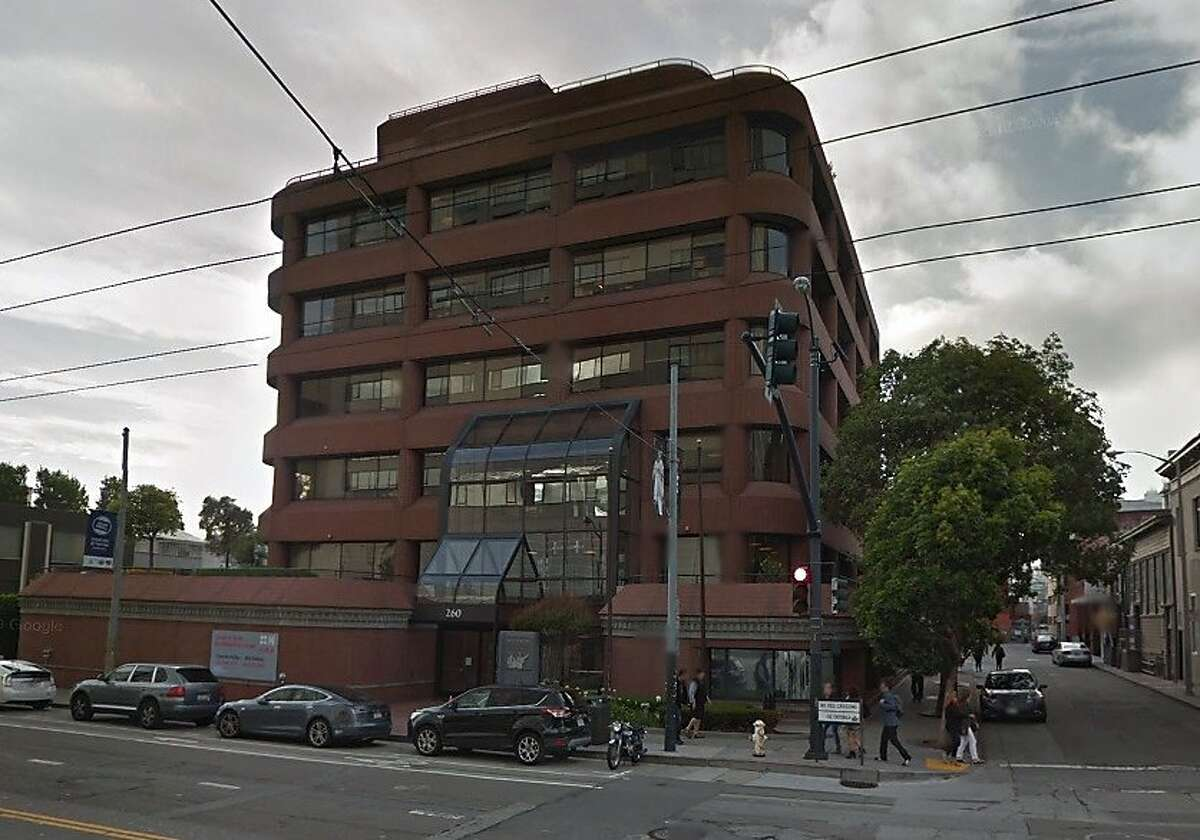 A Google Street View photograph shows the exterior of 260 Townsend St., the headquarters of Atrium LLP in San Francisco.