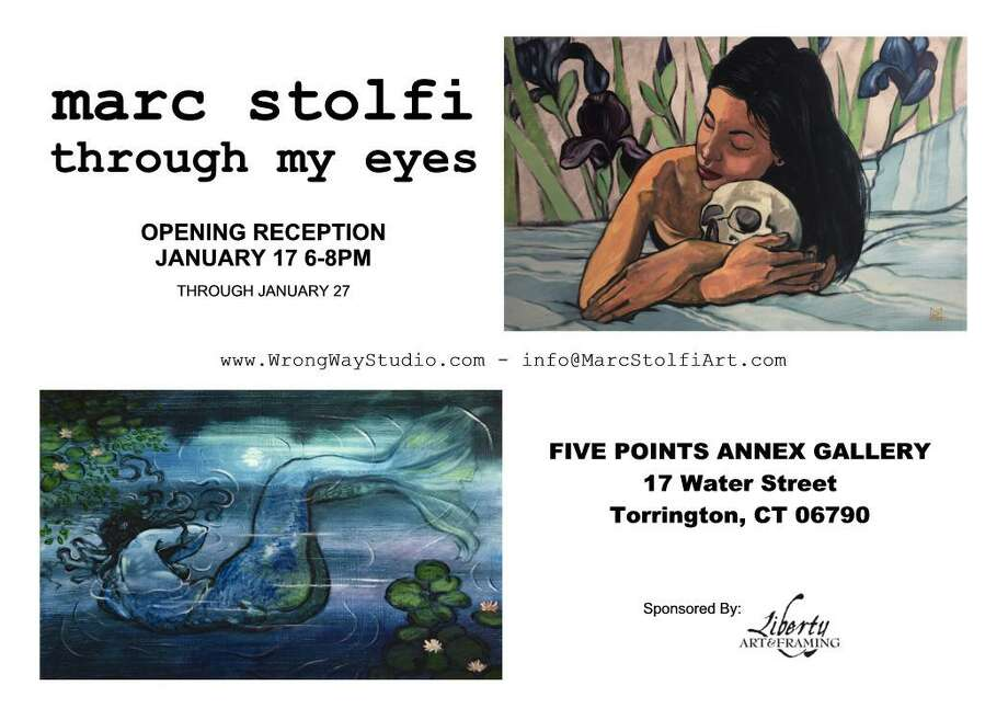 Five Points Annex Gallery will feature the works of Mark Stofi in its new exhibit, opening this weekend in Torrington. Photo: Contributed Photo