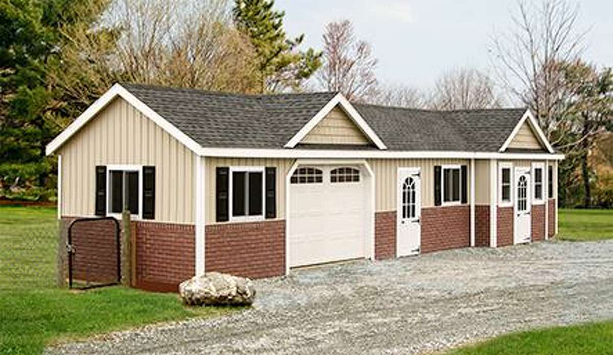Conceptual prefabricated designs that Hamden is looking at for an animal shelter in town.