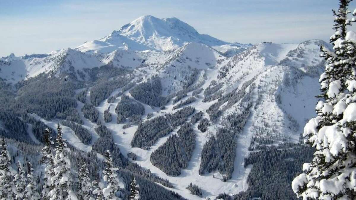 Another famed Washington ski resort, Crystal Mountain doesn't just beckon snowshoeing, but also gondola rides to the top of the mountain showcasing a gargantuan view of Mount Rainier on clear days.  Excellent for first timers, Crystal offers guided treks through alpine forests and some downhill ease over the weekends. The mountain resort also offers six new snowshoe trails in the Bullion Basin area with varying difficulty from easy going slopes to steep climbs which are self guided and friendly for the whole family.