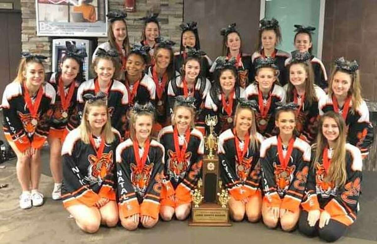 EHS varsity cheer squad placed second at the 36th annual ICCA championship.