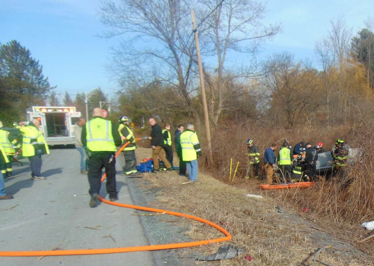 Crash injures 86-year-old in Voorheesville.
