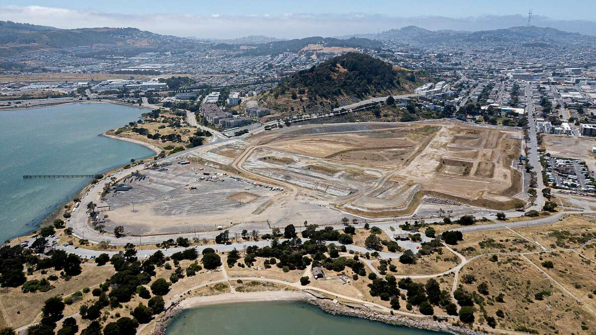 The development site of Candlestick Point, Friday, June 21, 2019, in San Francisco, Calif.