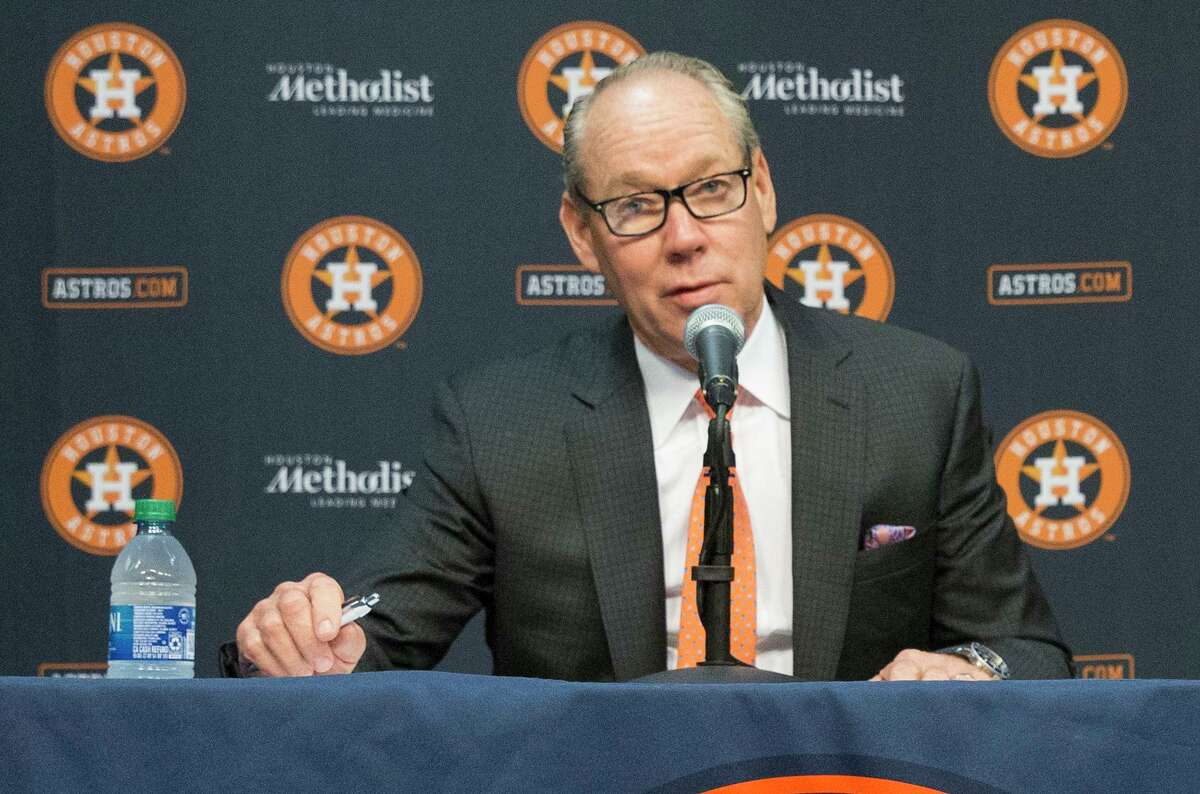 """Jim Crane said Monday he has """"has a bench coach that's capable"""" of being the Astros' new manager, but whether Joe Espada will get the job is up in the air."""