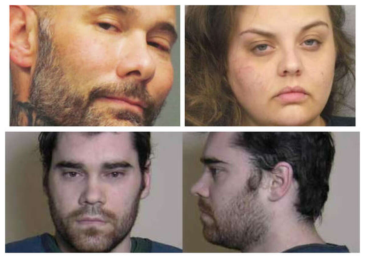 Pictured at top are Brady Kane Witcher and Brittany McMillan, and Timothy Banowetz, bottom.