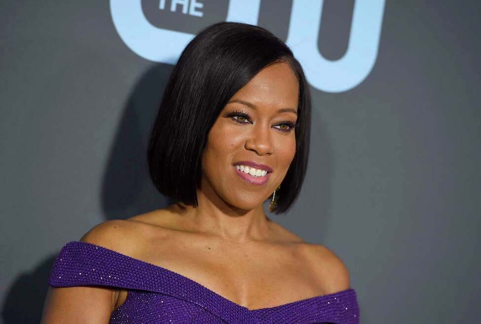 Regina King arrives at the 24th annual Critics' Choice Awards on Sunday, Jan. 13, 2019, at the Barker Hangar in Santa Monica, Calif. (Photo by Jordan Strauss/Invision/AP)