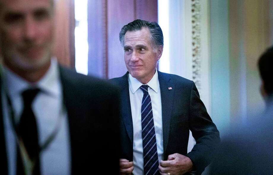 Sen. Mitt Romney, R-Utah, is one of several GOP senators who will be at the center of the highly anticipated impeachment trial of President Donald Trump. Photo: Washington Post Photo By Melina Mara / The Washington Post